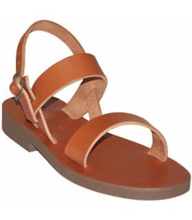 Sandales scholastiques brunes - Taille 39
