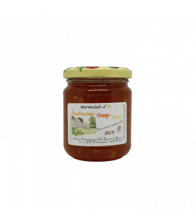 Confiture d'Or Pamplemousse-orange-citron 240gr