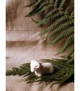 Crèche d'Avranches - Mouton couché