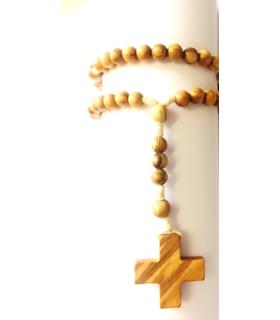 Chapelet avec croix grecque