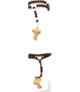 Chapelet avec croix Tau