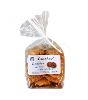 Cookies raisins-noix de coco