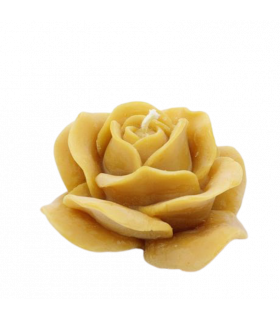 Bougie de Noël fleur de miel