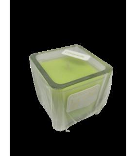 Bougie cube parfumée citronnelle