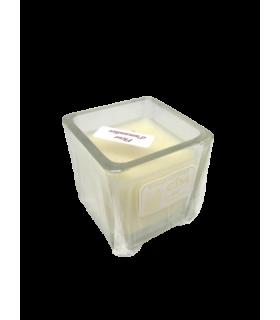 Bougie cube parfumée fleur amandier