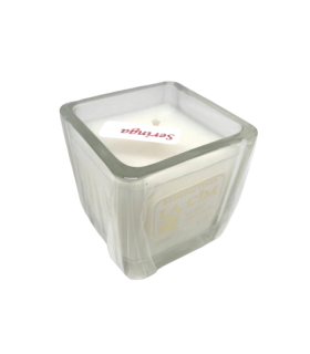 Bougie cube parfumée seringa