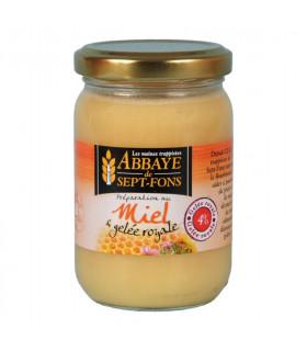Miel gelée royale 4%