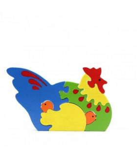 Puzzle poule