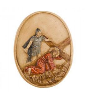 chemin de croix medaillon S3
