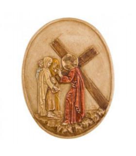 chemin de croix medaillon S8