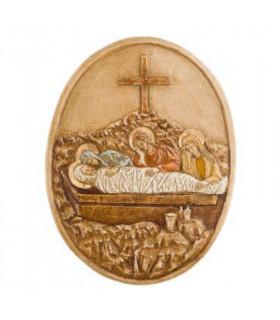 chemin de croix medaillon S14