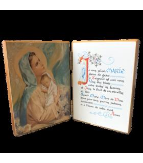 Diptyque La Vierge et l'Enfant