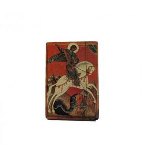 Icône Saint-George 10 cm x 15 cm