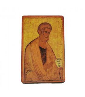Icône Saint-Pierre 9 cm x 7,5 cm