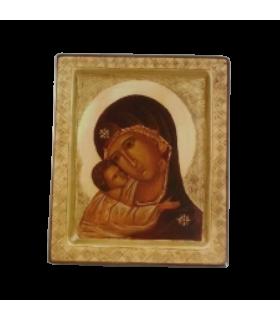 Icône Vierge Tendresse Infinie 20X 23 cm