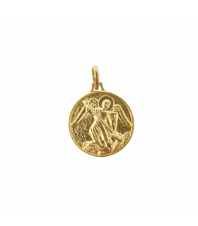 Médaille St Michel laiton