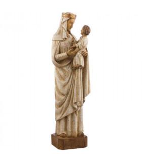 Vierge Notre Dame de Pontoise - Bois - 62cm