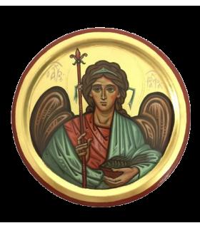 Icône archange Raphaël // diamètre 18 cm