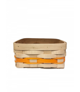 Panier pour la brioche orange 20*18cm