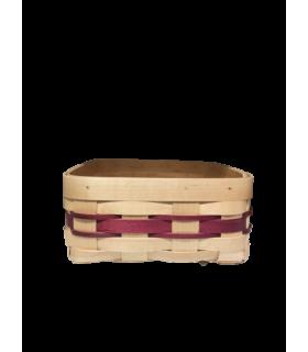 Panier pour la brioche violet 20*18cm