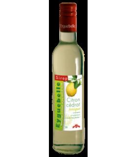 Sirop de citron cédrat - 50 cl