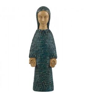 Vierge de l'Annonciation - bleu 18 cm