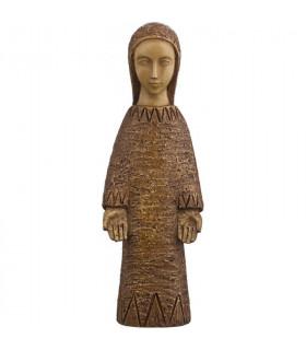 Vierge de l'Annonciation - bronze 18cm