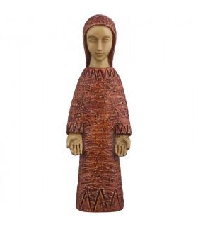 Vierge de l'Annonciation - rouge 18cm