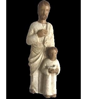 Saint Joseph enfant et colombe