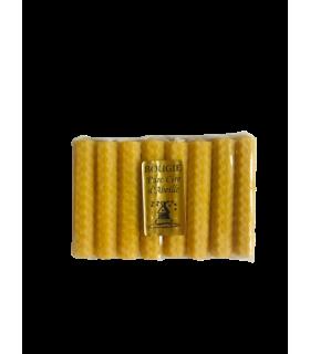 Petites bougies en cire d'abeille