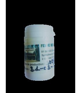 Spiruline gélules 50g