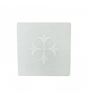 Pâle brodé blanc