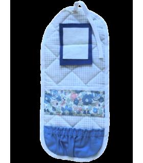 Trousse à couture bleue