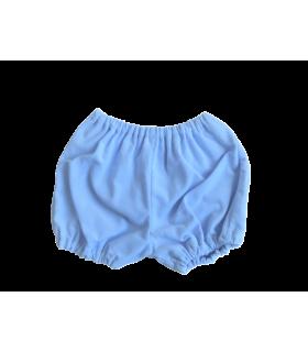 Bloomer garçon 3 mois velours bleu milleraie