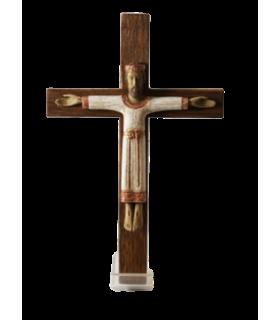 Christ prêtre avec croix blanc