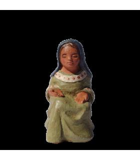 Marie assise - Crèche de Dourgne