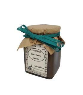 Confiture Kiwis - Pomme Cannelle 380gr