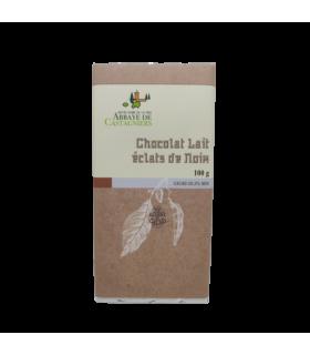 Tablette Chocolat Lait Eclats noix