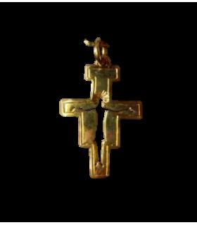 Médaille croix St Damien