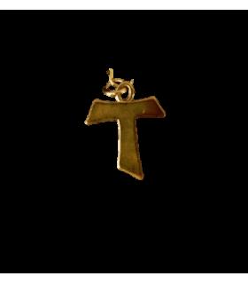 Médaille TAU st François plaqué or
