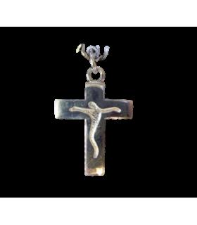 Médaille Croix Classique argent