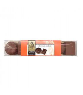 Chocolats au lait - réglettes campeneac