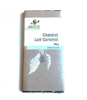 Tablette Chocolat au Lait Caramel - Castagniers - 100 g