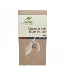 Tablette Chocolat Noir Eclats noix