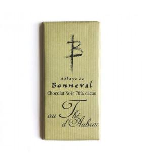 Tablette de chocolat noir au thé d'Aubrac