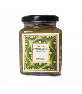 Caviar d'aubergine braisées 255g