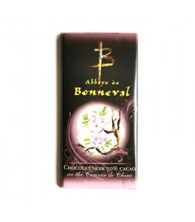 Tablette de chocolat au thé cerisier de Chine