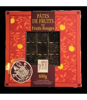 Pâtes de fruits- boîte 600g fruits rouges