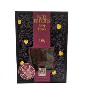 Pâtes de fruits  ballotin 5 épices