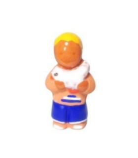 Crèche de Jouarre - Petit santon - B2 - Enfant de la paix